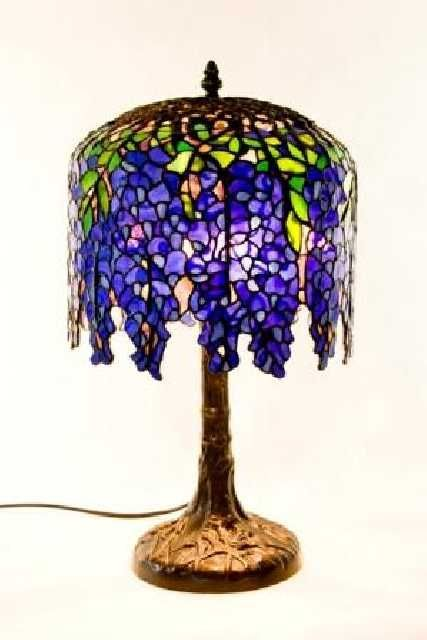 Tiffany Lamps Original Authentic Material Stain Glass