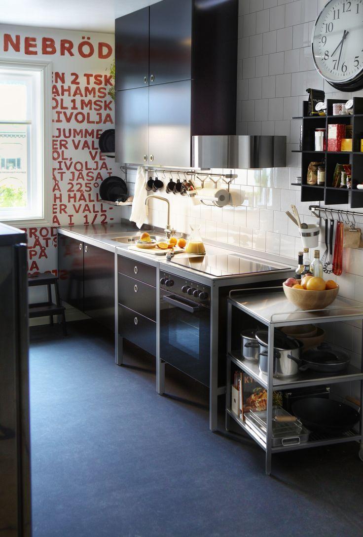 Ikea Kitchenette It 39 S A House Pinterest Küche Freistehend Küchendesign Kleine Küche
