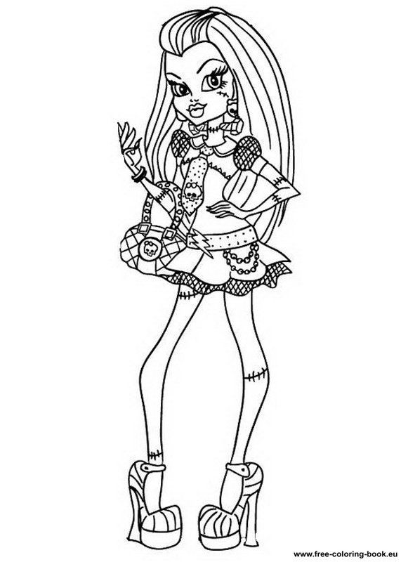 Image Detail For Coloring Pages Monster High