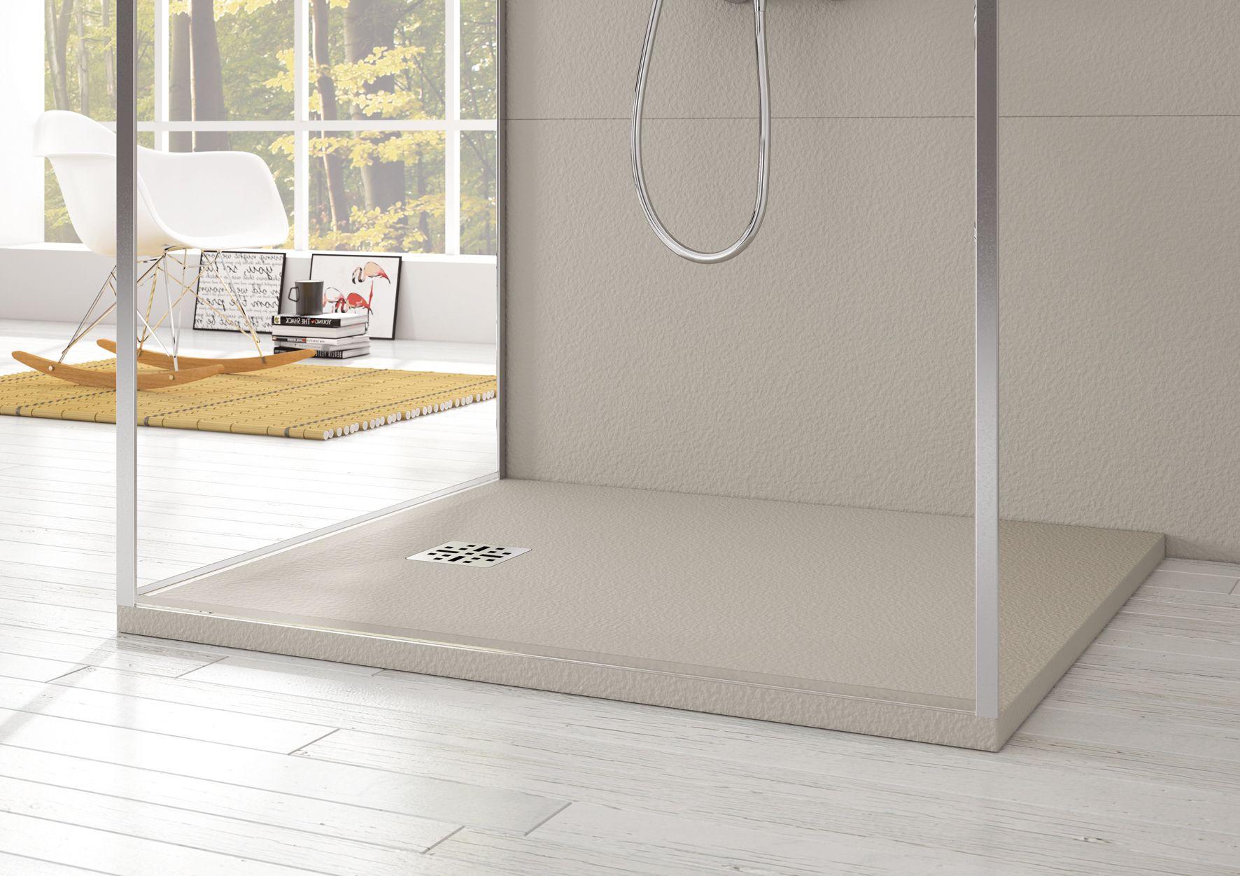receveur de douche cedam saba receveur couleur pierre sable en mineralsolid disponible en 4. Black Bedroom Furniture Sets. Home Design Ideas