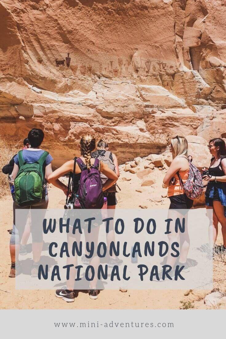 Canyoneering & Wild Camping in Canyonlands National Park ...
