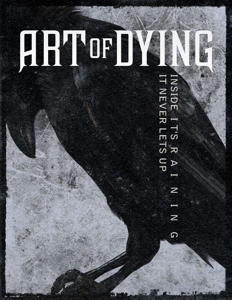 """""""If I can get through this  I can get through anything  If I can make it through this  I can get through anything""""  Art of Dying - Get Through This"""