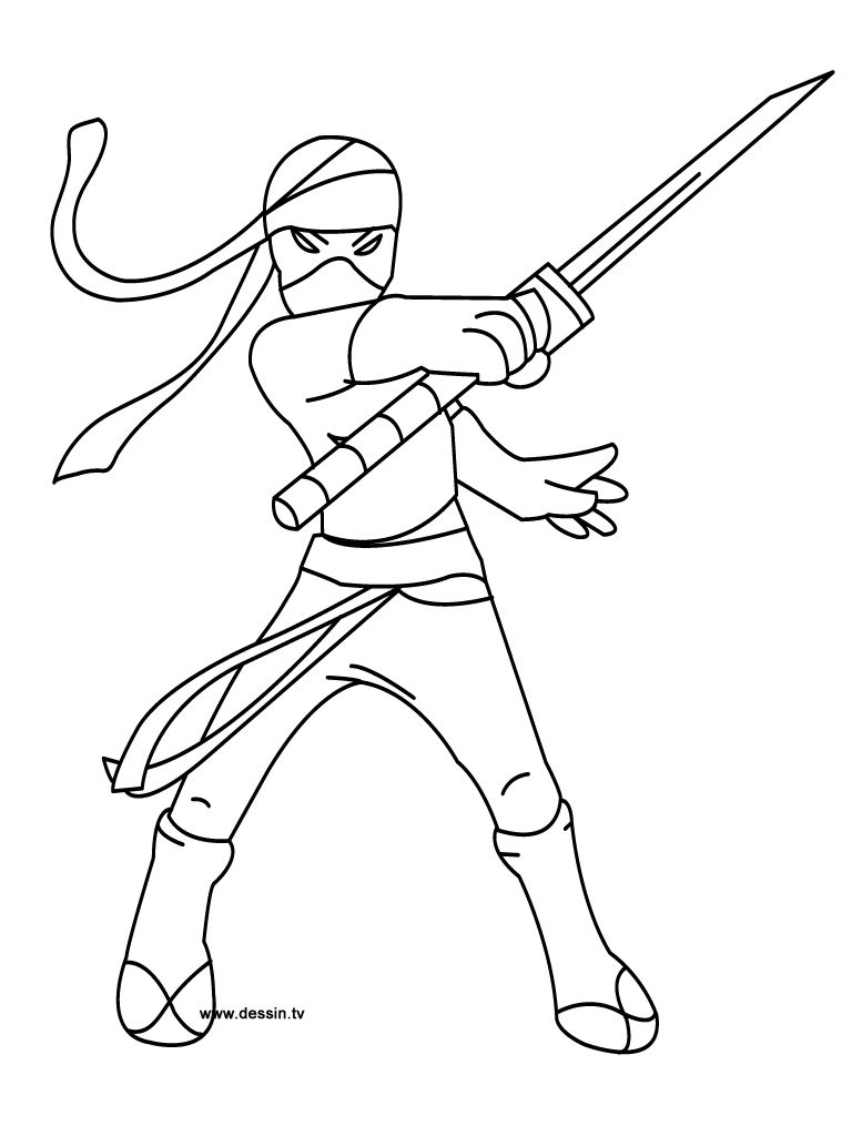 Ninja Coloring Pages For Girls Turtle Coloring Pages Ninjago