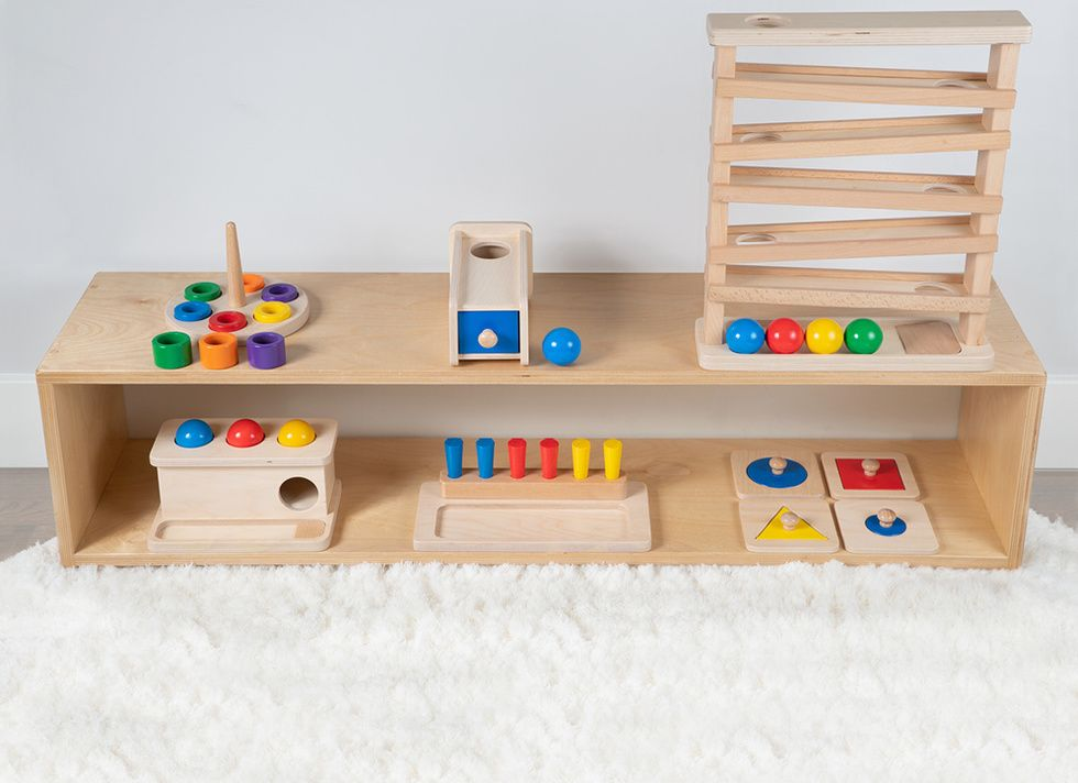 11 Simple Beautiful Wooden Toys You Can Buy At Target Montessori Toys Toy Shelves Kids