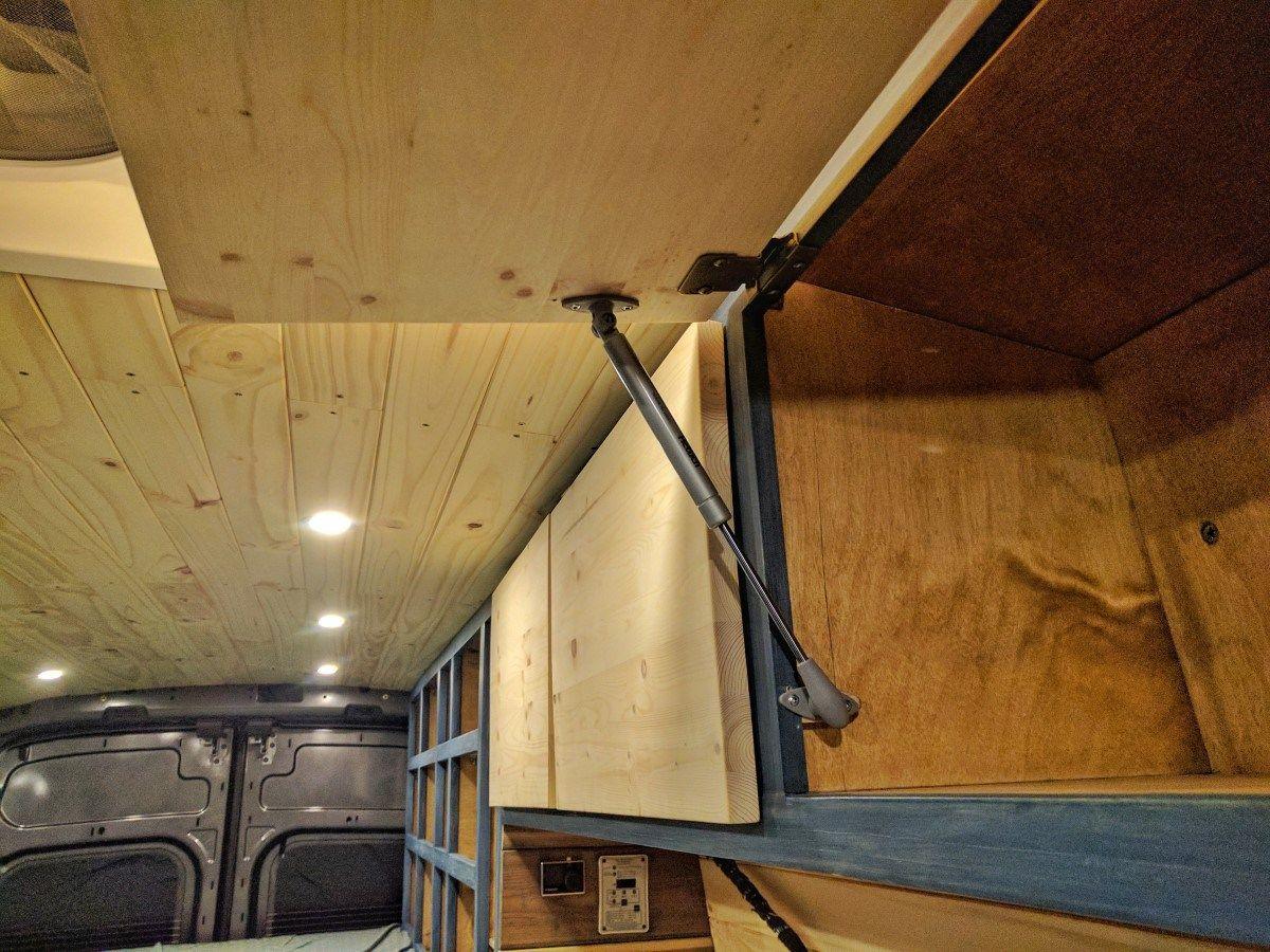 Overhead Storage Cabinet Overhead Storage Campervan Storage