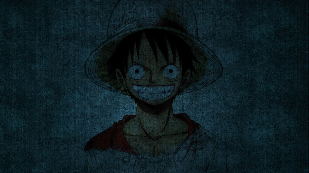 Monkey D Luffy One Piece Smile Anime Wallpaper In 2020 Monkey D Luffy Luffy Blue Background Wallpapers