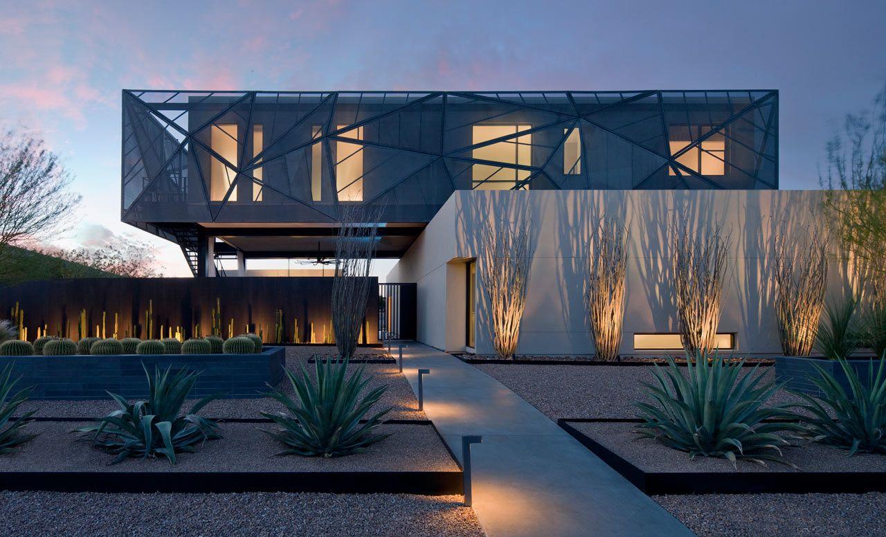 Tresarca house by assemblagestudio in las vegas tresarca house by assemblagestudio in las vegas contemporary landscape desert