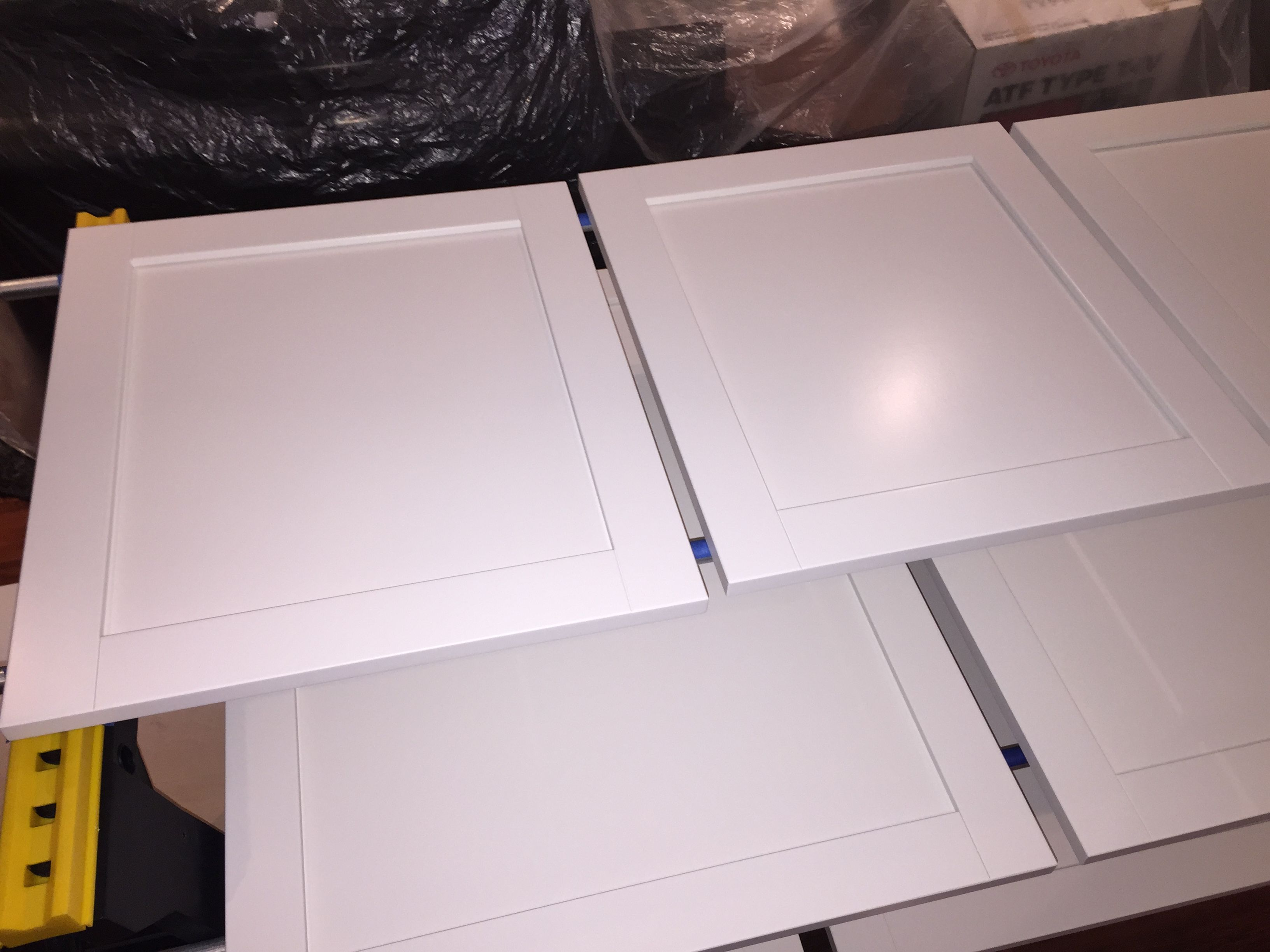 ikea bjorket doors painted with general finishes enduro, pigmented