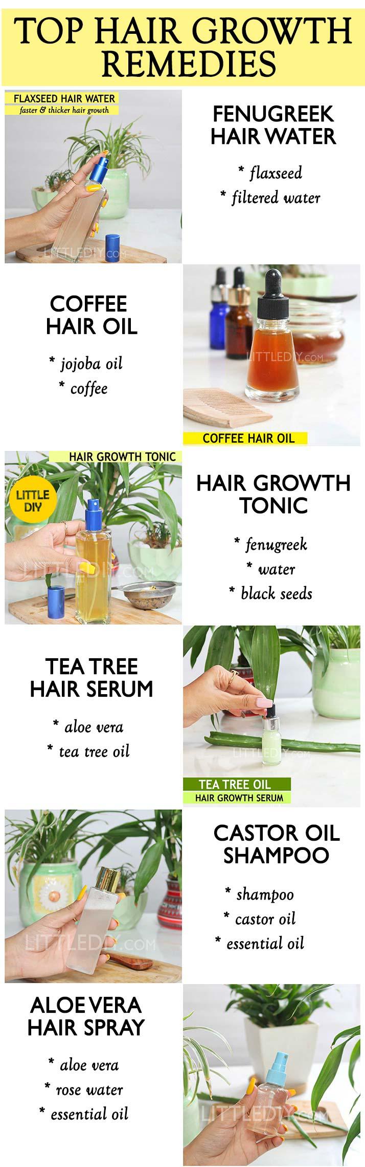 Top Amazing Diy Hair Growth Remedies Hair Remedies For Growth Diy Hairstyles Hair Growth Oil