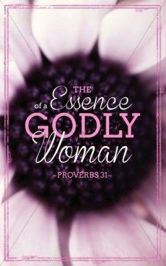 Godly Woman Church Bulletins | Woman of God | Godly woman