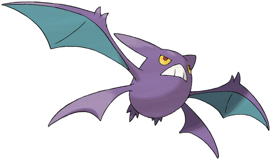 Pokédex entry for #169 Crobat containing stats, moves ...