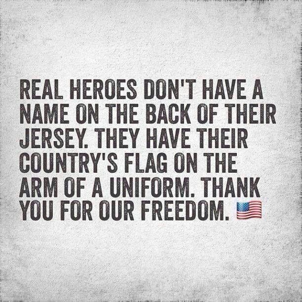 It S True Real Heroes Have Their Country S Flag On The Arm Of A