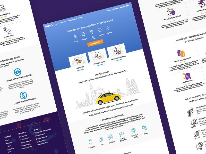 Car Insurance Website Layout Insurance Website Best Insurance Car Insurance