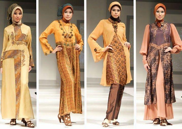 5 Baju Muslim Batik dan Tips Memilih Batik Terbaik (Dengan ...