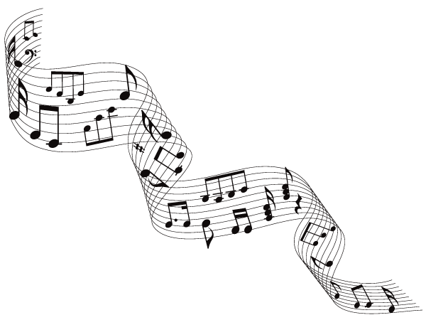 Free Musical Notes Vector Download Free Vector Art Sketching