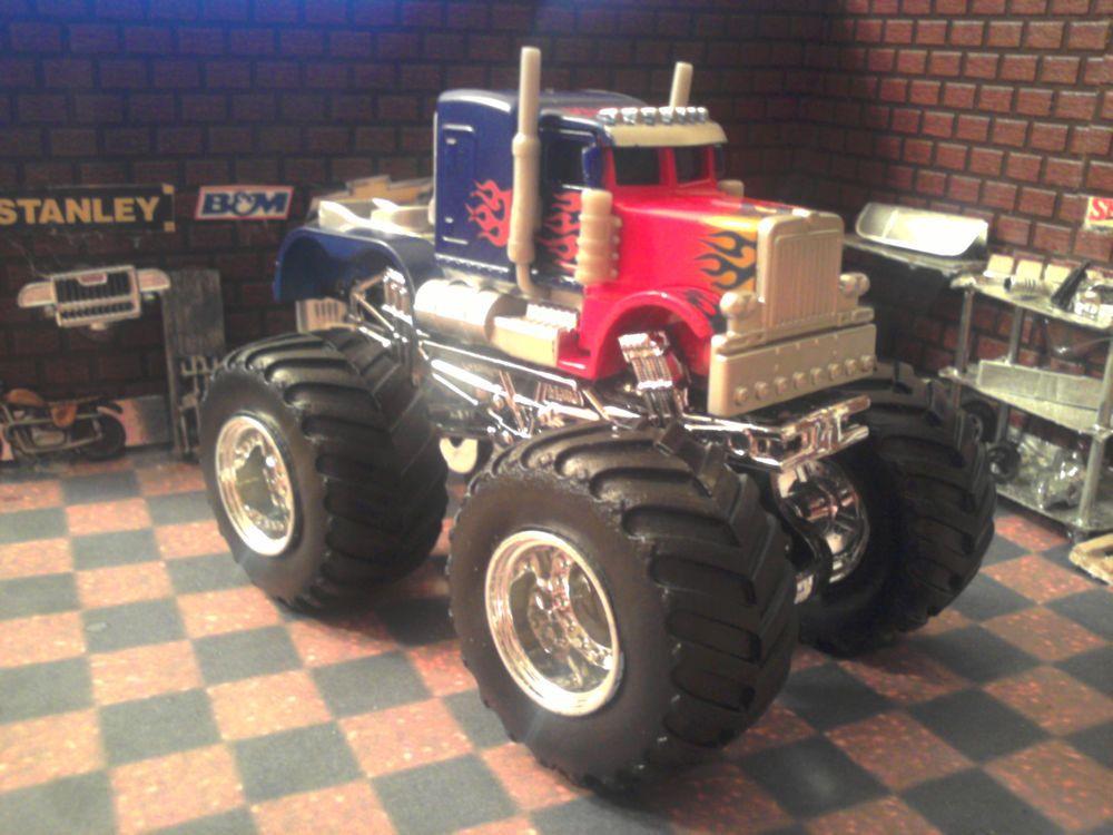 Custom 1 64 Scale Transformers Optimus Prime Rpms Hot