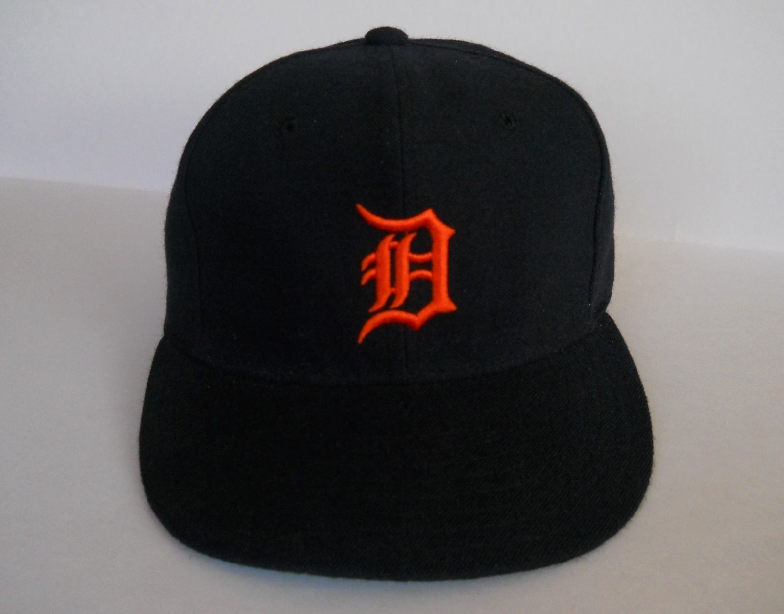 vintage new era detroit tigers hat cap diamond authentic fitted 6 7 8 ace ebay cancelled