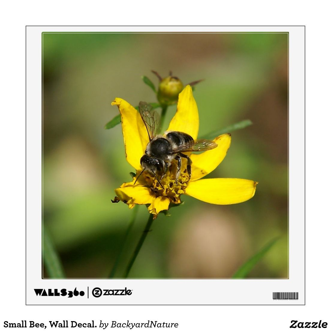 Small Bee, Wall Decal. Wall Decal | Small bees