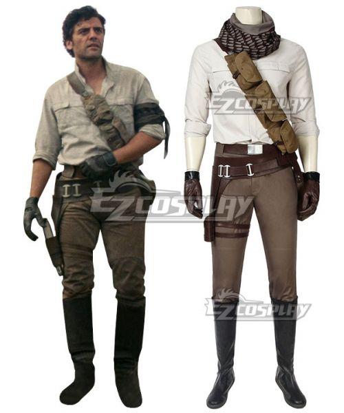 Star Wars 9 The Rise Of Skywalker Poe Dameron Cosplay Costume Cosplay Costumes Poe Dameron Cosplay
