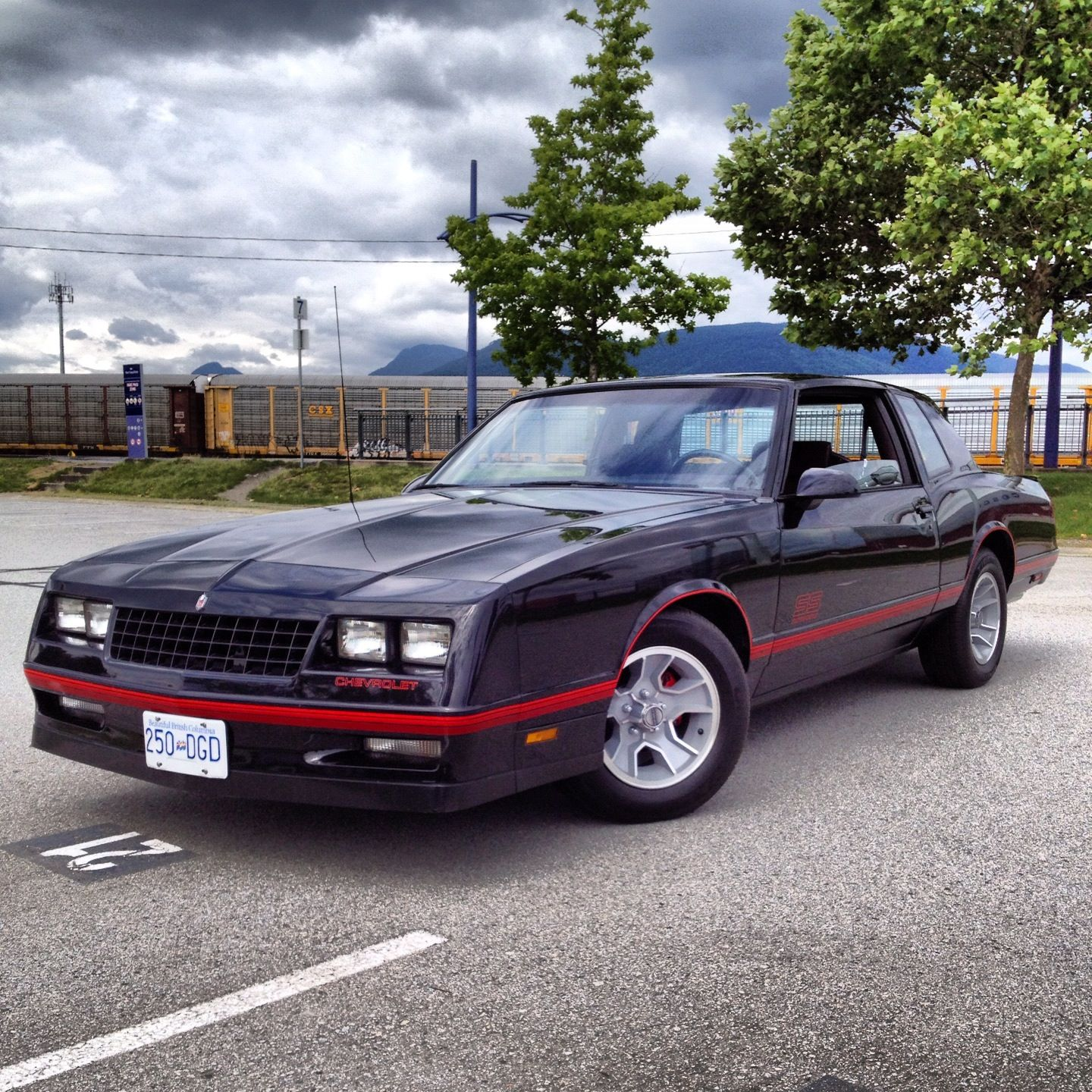 Our 88' Monte Carlo SS. All Original And Only 70,000KM