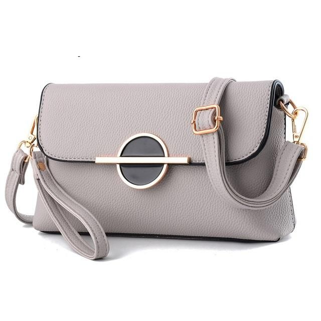 New Womens Soft Genuine Leather Wristlet Purse Handbag Pouch Wallet Shoulder Bag