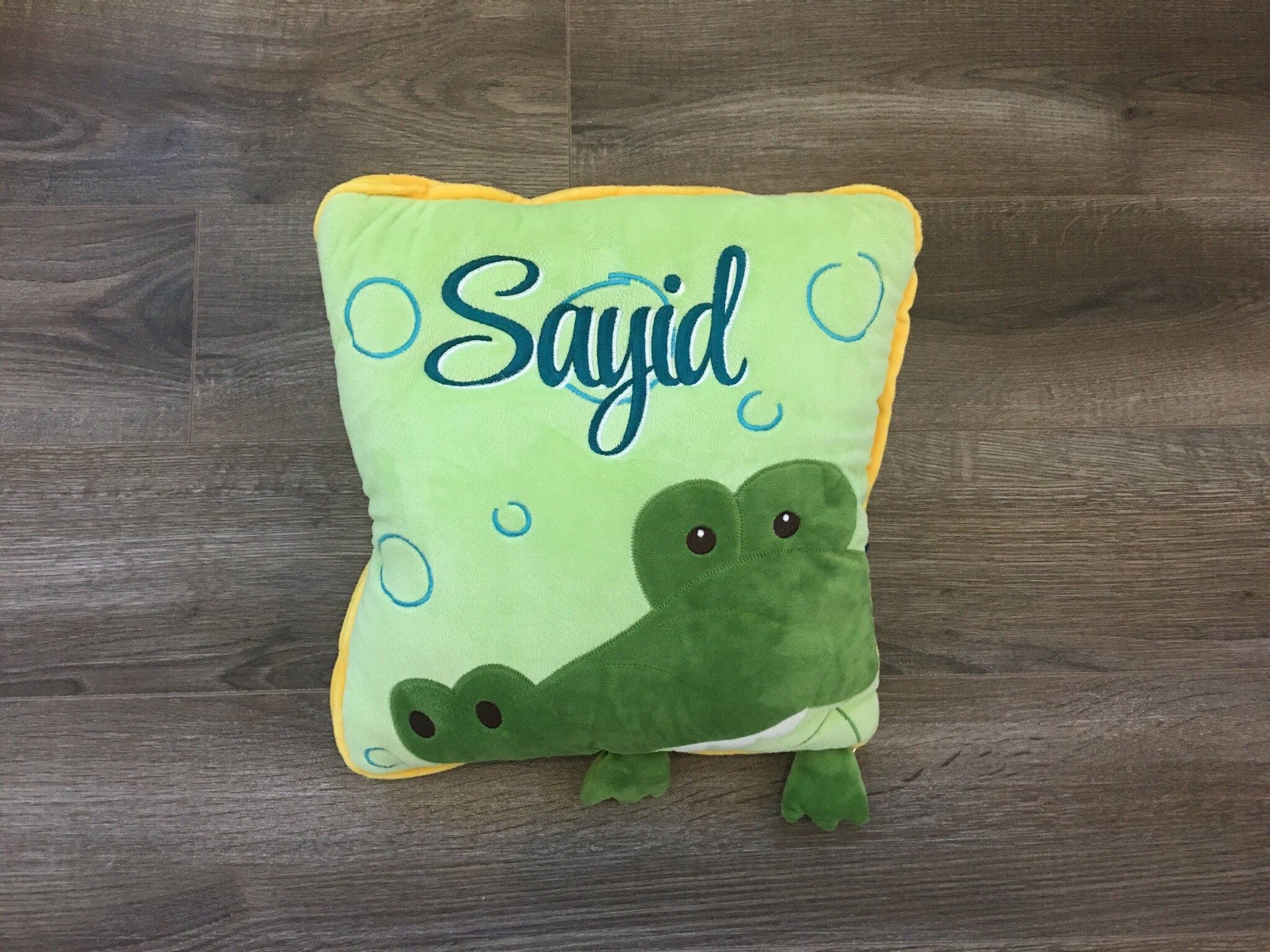 Personalized baby and kids pillow