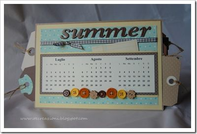 Idee Calendario.Calendario Idee Scrap Journal Card And Paper Paper