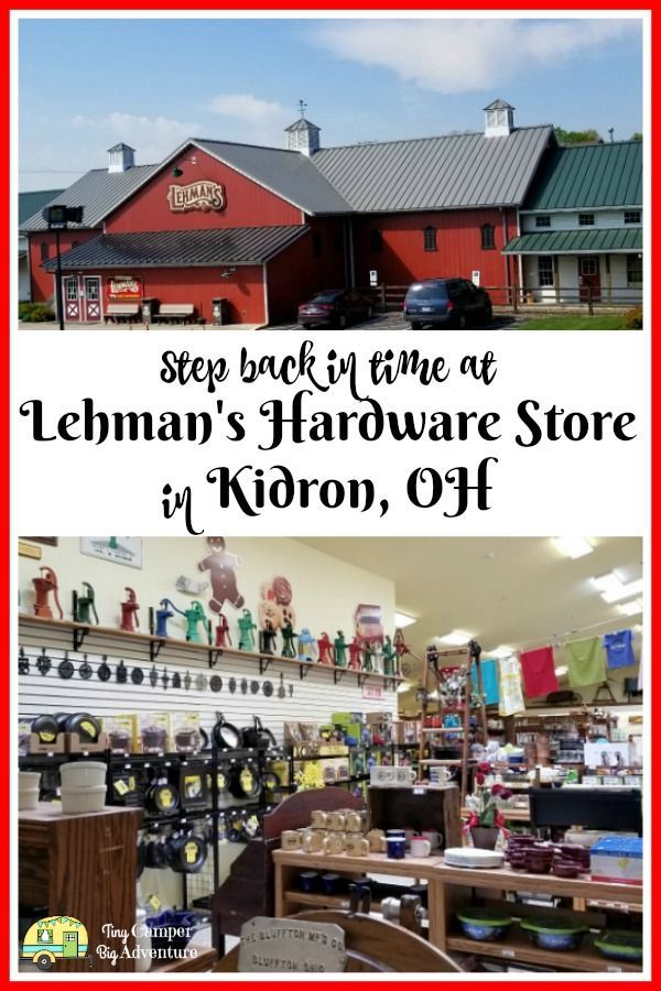 Lehman Hardware Store in Kidron Ohio a shop where time