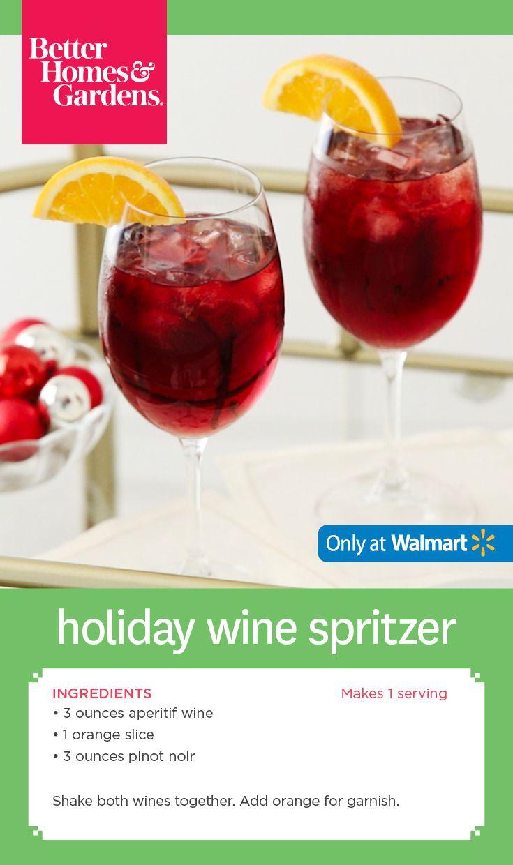 Better Homes Gardens Holiday Wine Spritzer Bhgcelebrate Holiday Wine Better Homes Gardens Wine Spritzer