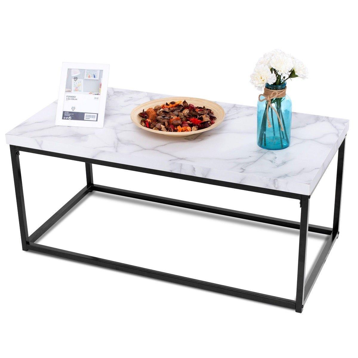Modern Rectangular Cocktail Coffee Table Coffee Table Metal Frame Coffee Table Metal Coffee Table [ 1200 x 1200 Pixel ]