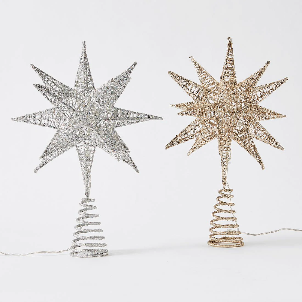Star Burst Tree Topper Assorted Tree toppers