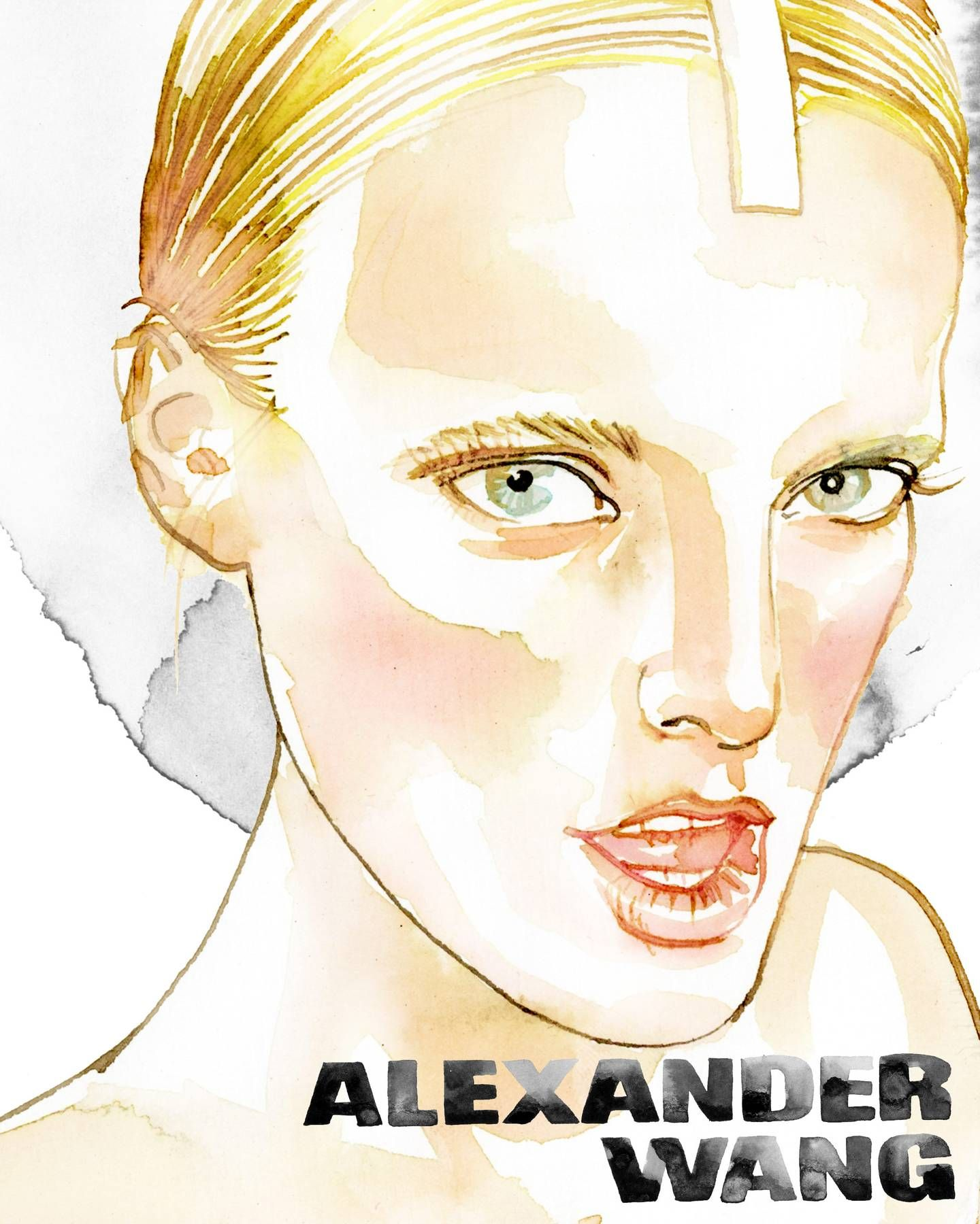 Backstage Illustrations from Alexander Wang - The Cut