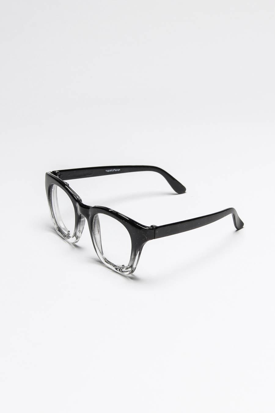 5d6e4f4f34 Black + Clear Frame Glasses (he would look so adorable in these ...