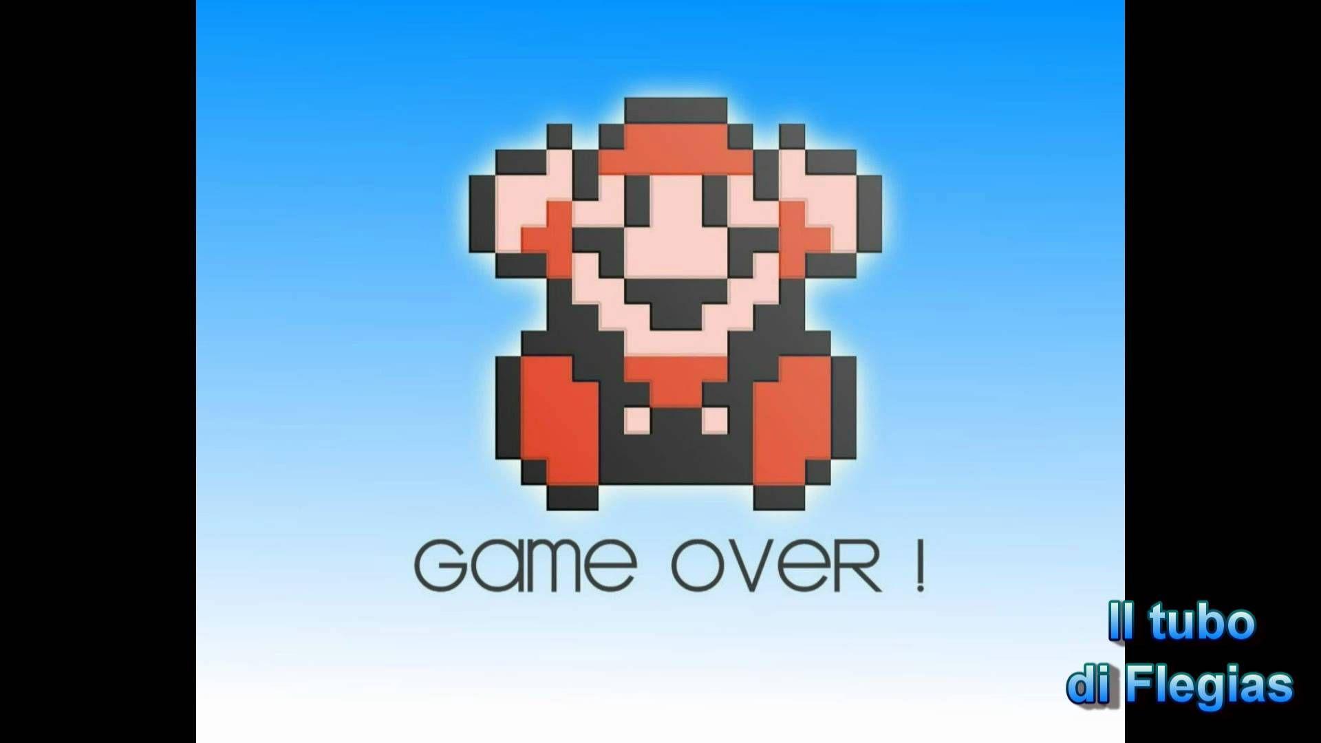 super mario bros game over sound effect youtube mario