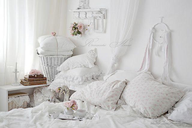 lovely #shabby #white #bedroom Home Shabby Chic Pinterest