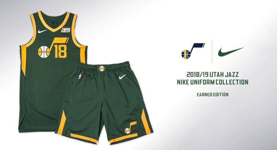 online retailer 61a49 f1d66 Utah Jazz to debut new green 'Earned Edition' uniforms on ...