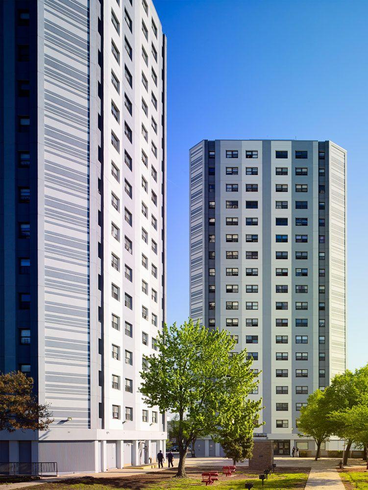 Georgia King Village Affordable Housing Development In Newark New Jersey Affordable Housing Village Building