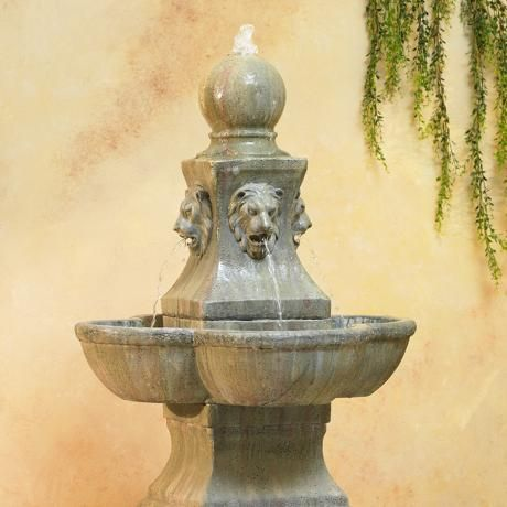 Tuscan Garden Pedestal 54 Quot High Outdoor Fountain