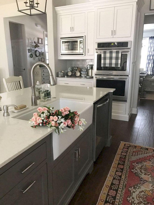 gorgeous kitchen island decor ideas diamond cabinets coconut