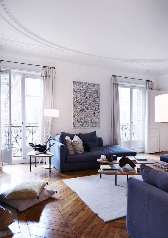 75 inspirations pour décorer un appartement haussmannien