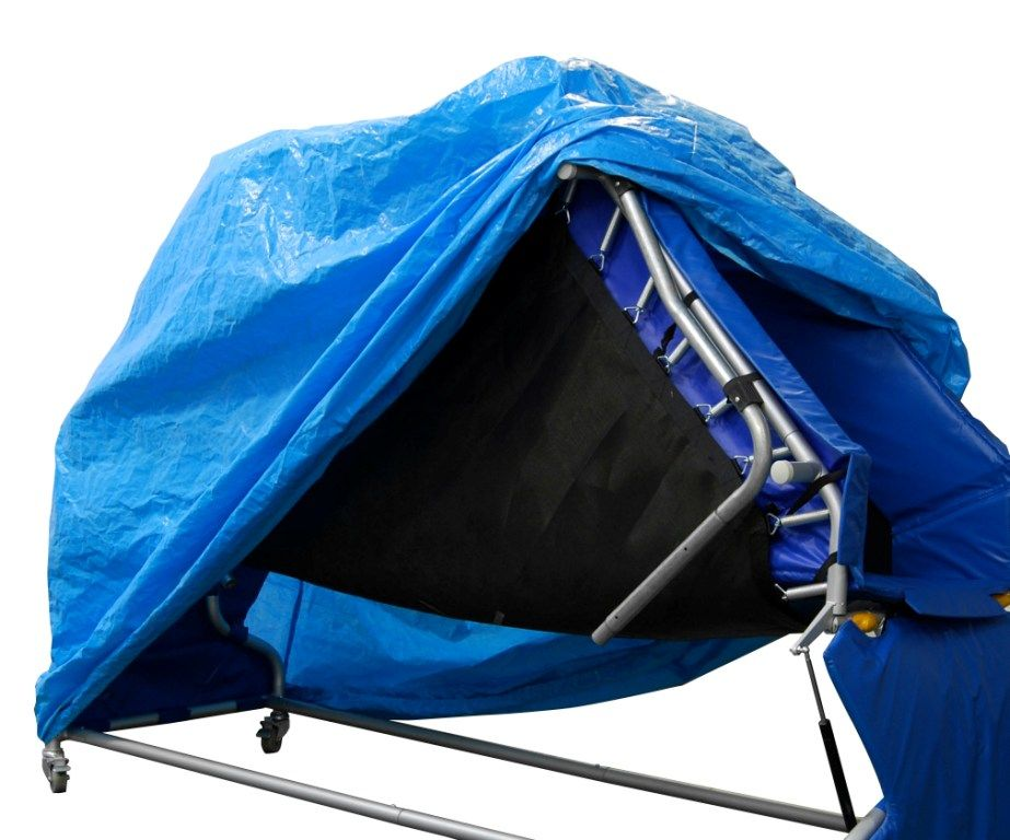 B Q 12ft Folding Replacement Trampoline Cover Octopus Leisure B Q Trampoline Outdoor Gear