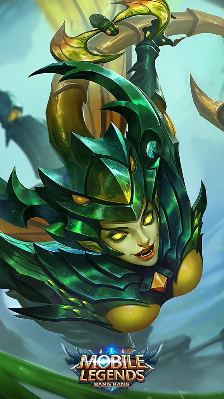 Karrie_Bladed Mantis Mobile Legend Wallpaper, The Legend Of Heroes, Mobile  Legends, Games Images