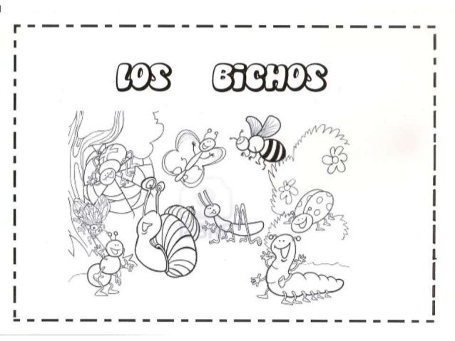 LOS BICHOS;PROYECTO INFANTIL | Planners | Pinterest | Insects and Bugs
