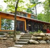 An Eco-Efficient Seasonal Home on Lake Muskoka in Ontario