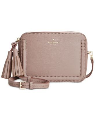 935385118 KATE SPADE kate spade new york Orchard Street Arla Crossbody. #katespade  #bags #shoulder bags #leather #polyester #crossbody #lining #