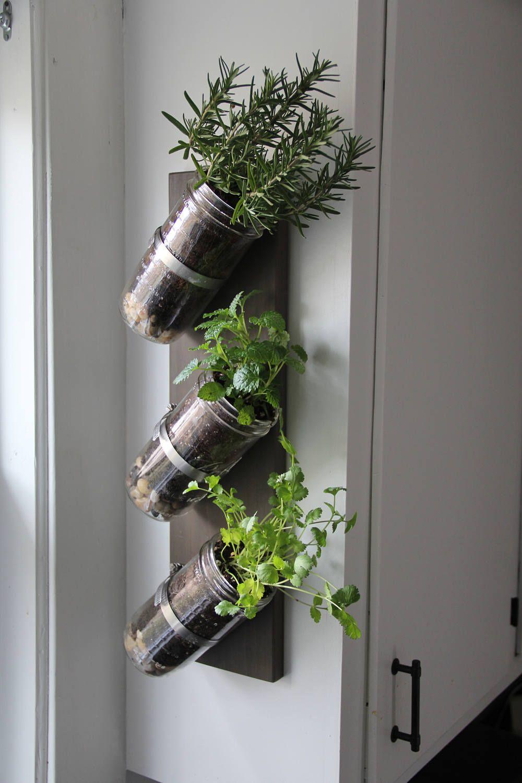 indoor herb garden mason jar herb garden mason jar on indoor herb garden diy wall mason jars id=42658