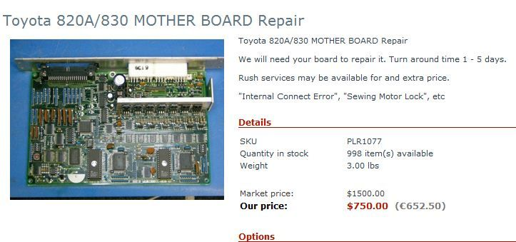 We Repair Circuit Boards And Specialize In Embroidery Machine Simple Sewing Machine Circuit Board Repair
