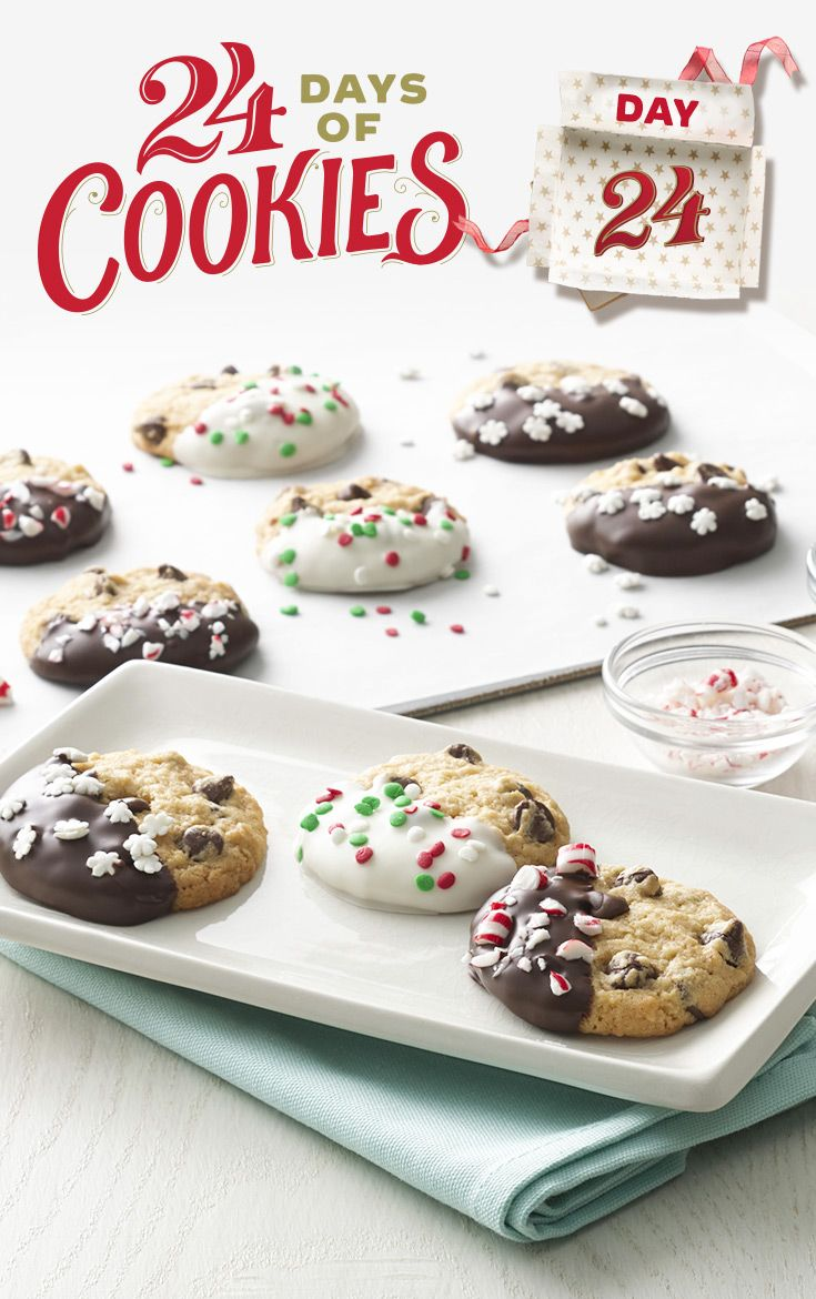Chocolate Chip Christmas Cookies | Recipe | Pinterest | Chip cookies ...