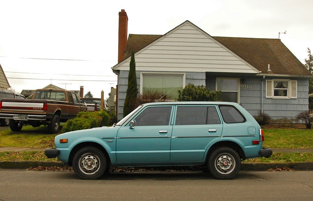 1978 Honda Wagon It Was Brown With A Tan Interior I Fixed Something Wrong The Engine And Sold Immediately