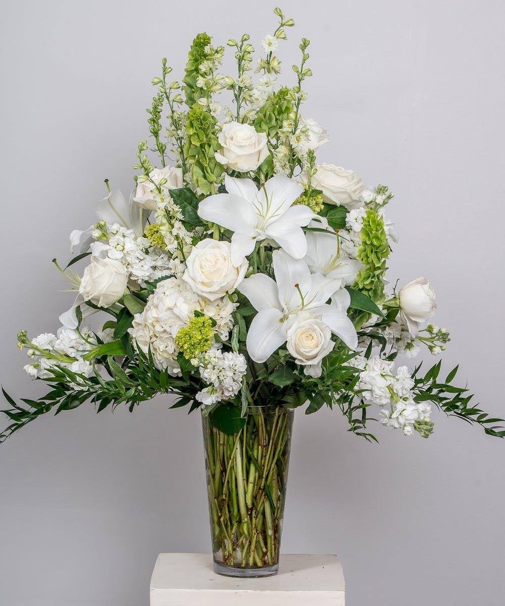 Traditional Elegance Vase Arrangement in 2020 Funeral